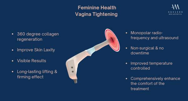 exilis vagina tightening treatment, ageless medical, ageless medi aesthetics, dr lam bee lan, urinary incontinence, anti aging